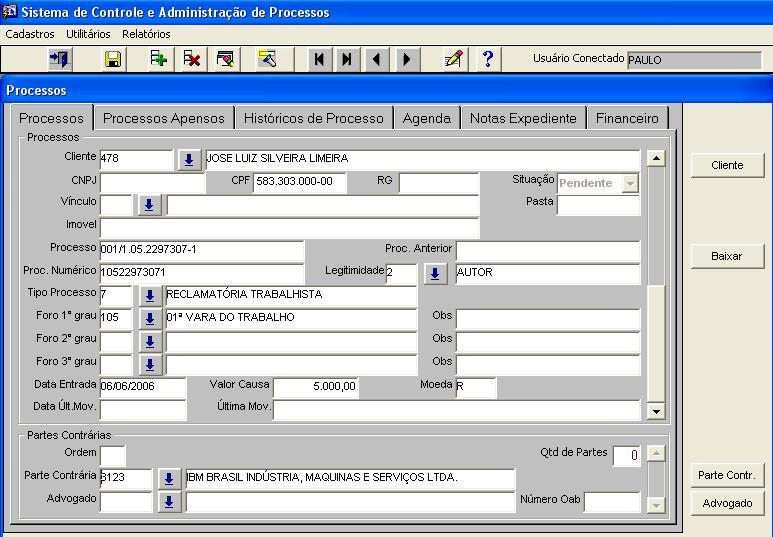 Utilização de Tecnologia de Banco de Dados Oracle 10g Free Edition,